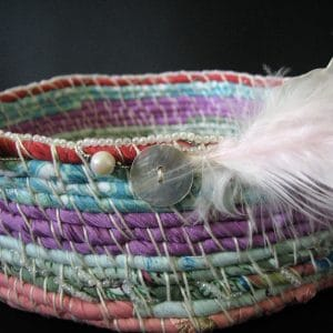 Coil basket example for tutorial.