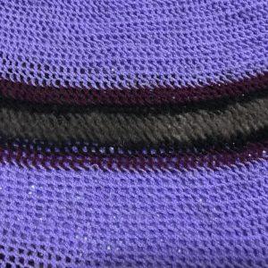 Traditional Woven Bag or Bilum. Purple,Black, Maroon & Brown