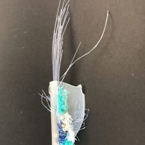 Statement Brooch Crafted from Marine Plastics