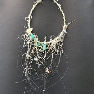 One of a kind necklace as wearable art