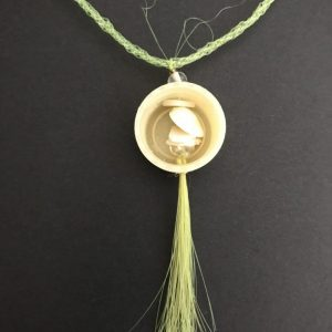 Hand Made Necklace With A Conservation Message