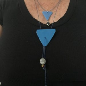 Statement Necklace Hand Crafted From Marine Debris