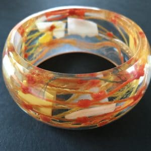 Orange and Yellow Bangle
