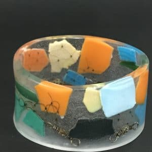 Colorful and Cool Marine Debris Bangle