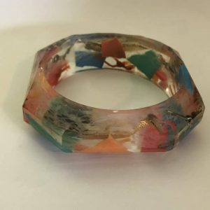 Colorful and Bright Sea Trash Bracelet