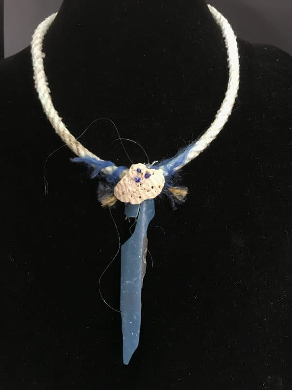 Marine Necklace With A Conservation Message