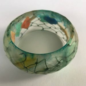 Mermaid Marine Debris Bangle