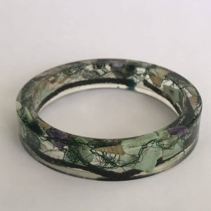 Dark Green Mermaid Bangle