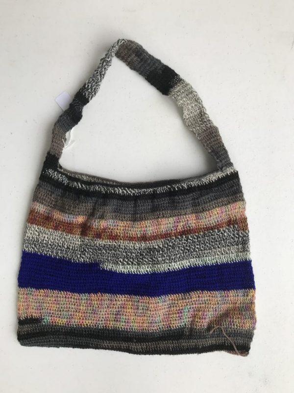 Hand Woven Shoulder Bag Using Traditional Methods