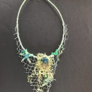 Ethical Necklace. Recycled Marine Plastic Necklace.