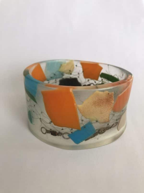 Colorful and Cool Marine Debris Bangle