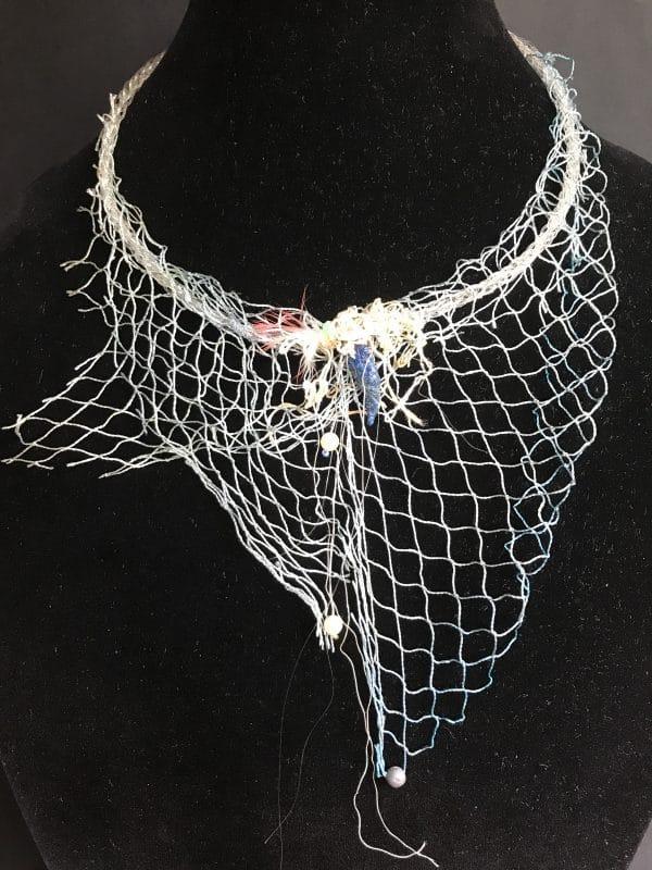 Fashion Statement Necklace From Marine Debris