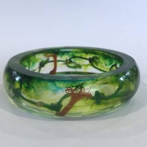 Eco Chic Bangle With An Environmental Message
