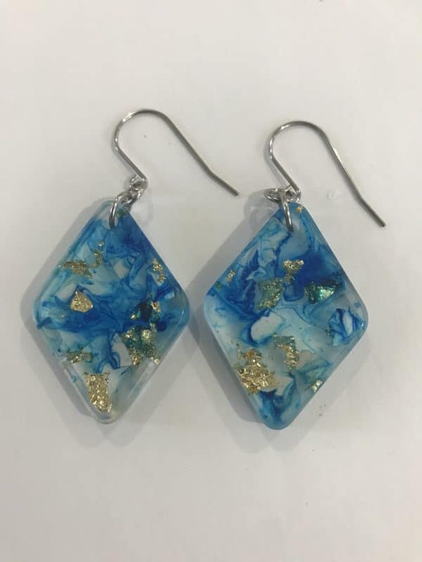 Mermaid Marine Theme Earrings