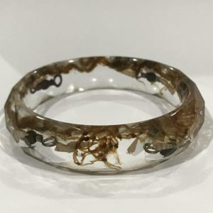 Bangle In Earthy And Organic Shades